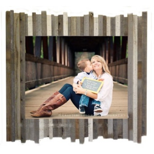 12 X 18 Beachcomber Reclaimed Wood Picture Frame