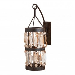 Shell Cylinder Sconce