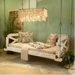 Bedswing with Sides in Pine