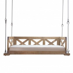 Bed Swing W/x Sides And Back/pine