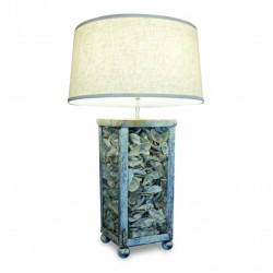 Lamp with Shell Center
